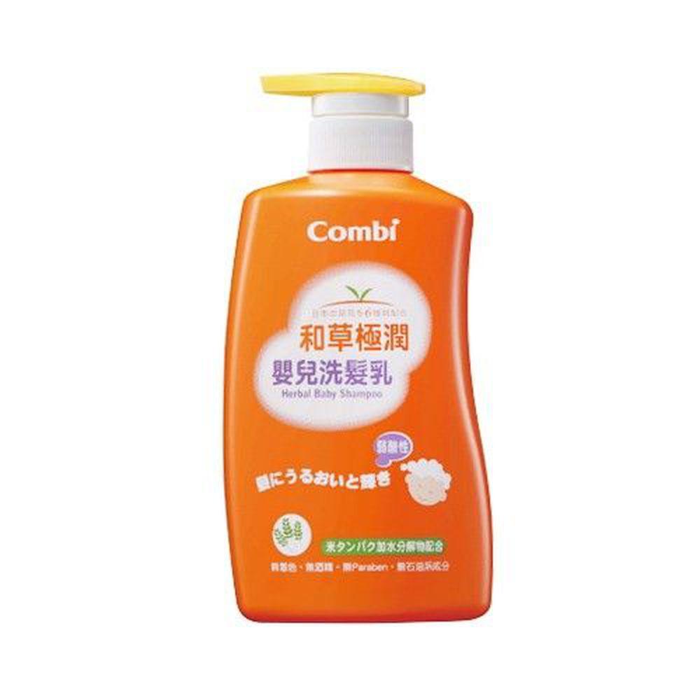 日本 Combi - 和草極潤嬰兒洗髮乳-500ml