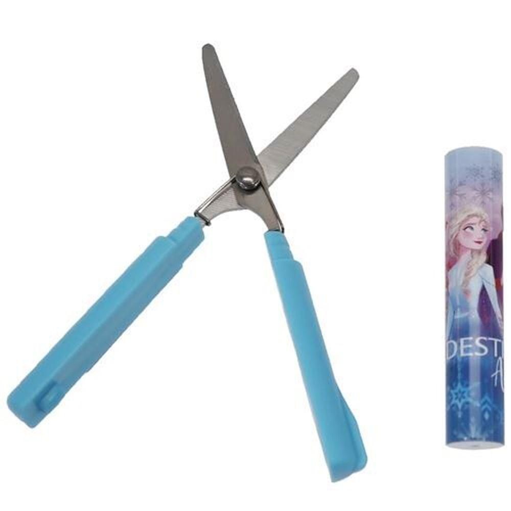 日本代購 - 筆型攜帶式剪刀-冰雪奇緣2-藍