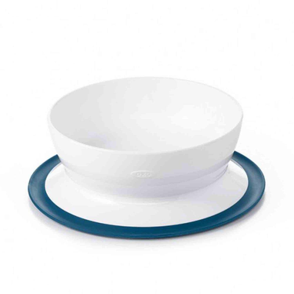 美國 OXO - 好吸力學習碗-海軍藍