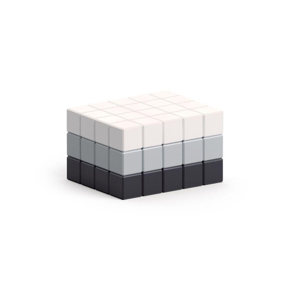美國 Pixio - 磁力像素小魔方-抽象系列-黑白簡約60