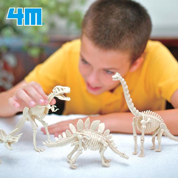 挖掘恐龍遺跡!【4M】考古DIY,操作時間2hrs起跳!