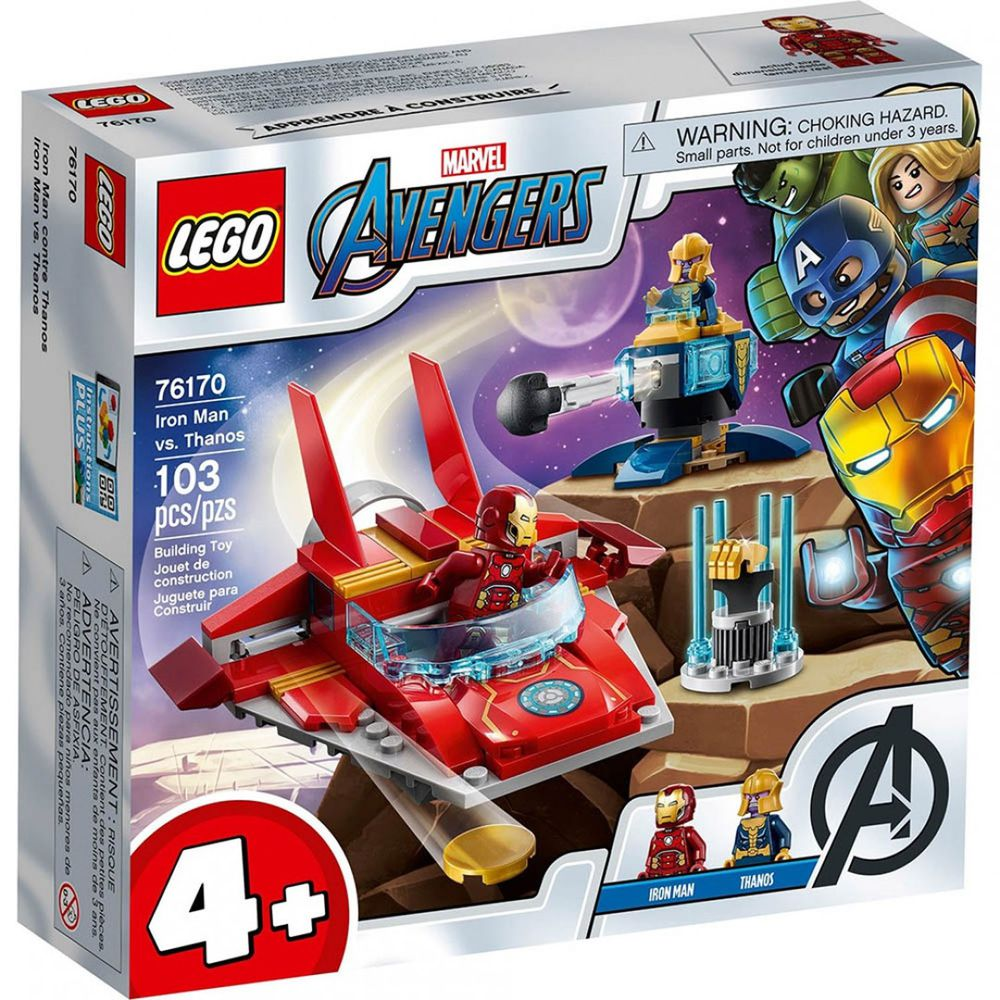 樂高 LEGO - 樂高積木 LEGO《 LT76170 》SUPER HEROES 超級英雄系列 - Iron Man vs. Thanos-103pcs