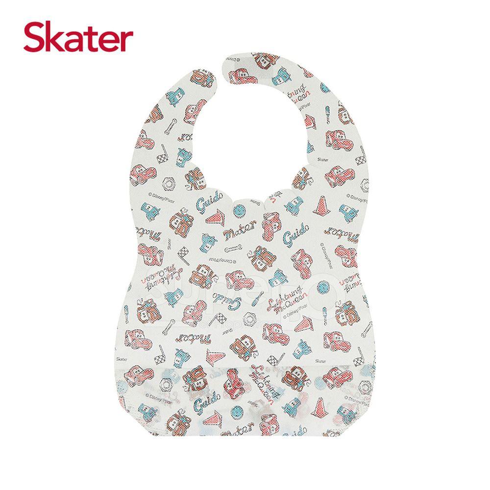 日本 SKATER - 拋棄式圍兜(10入/包)-閃電麥昆