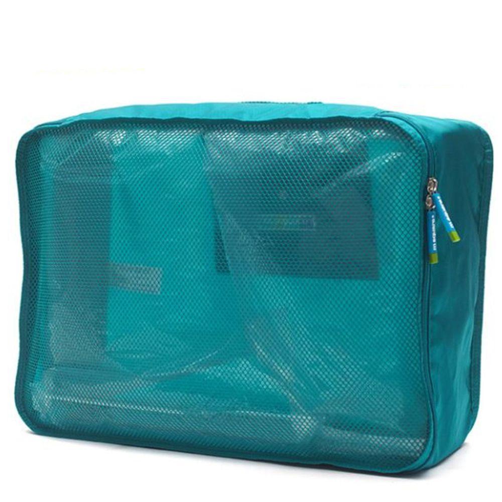m square - 商旅系列Ⅱ折疊衣物袋XL-湖水藍