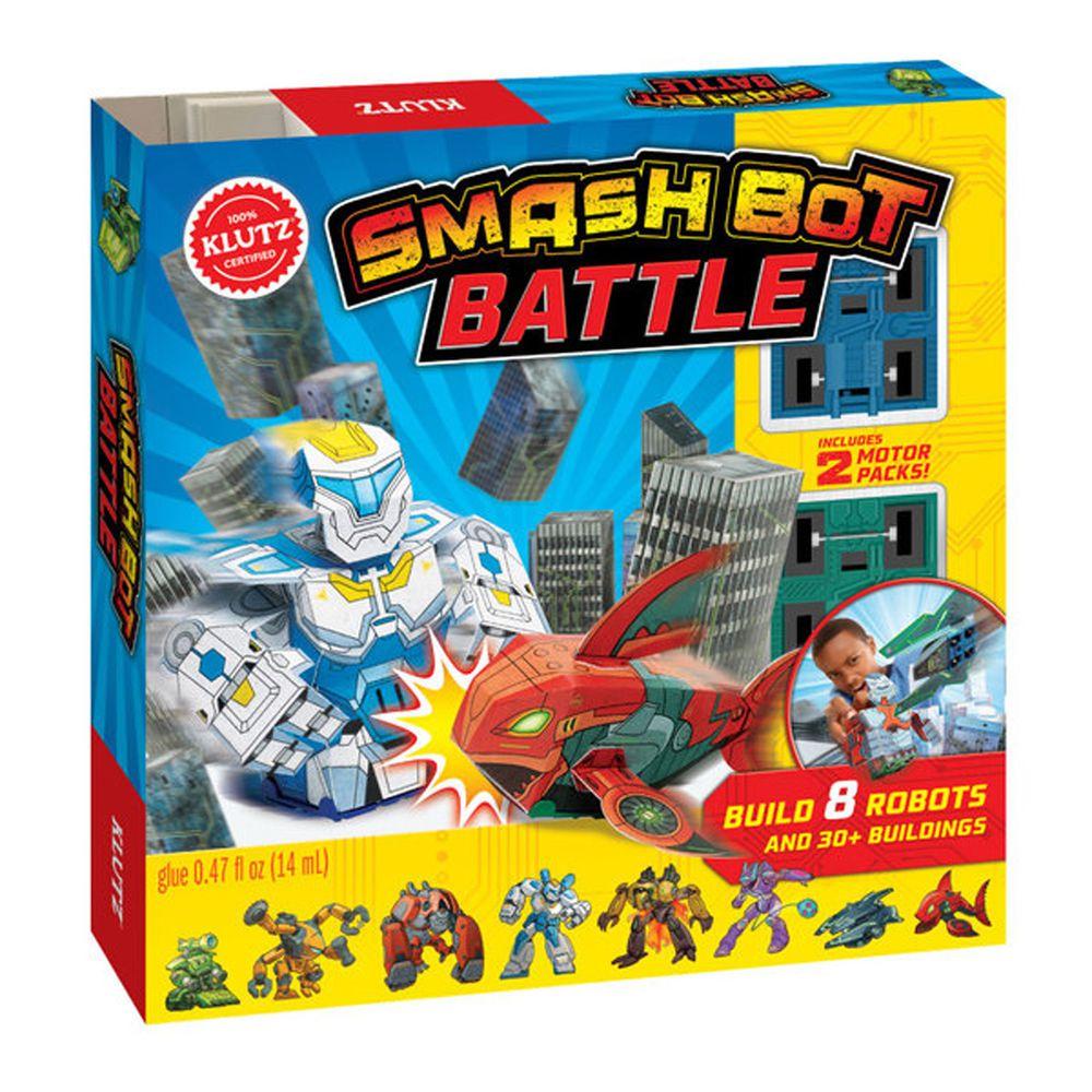 美國KLUTZ創意遊戲書 - 對戰機器人