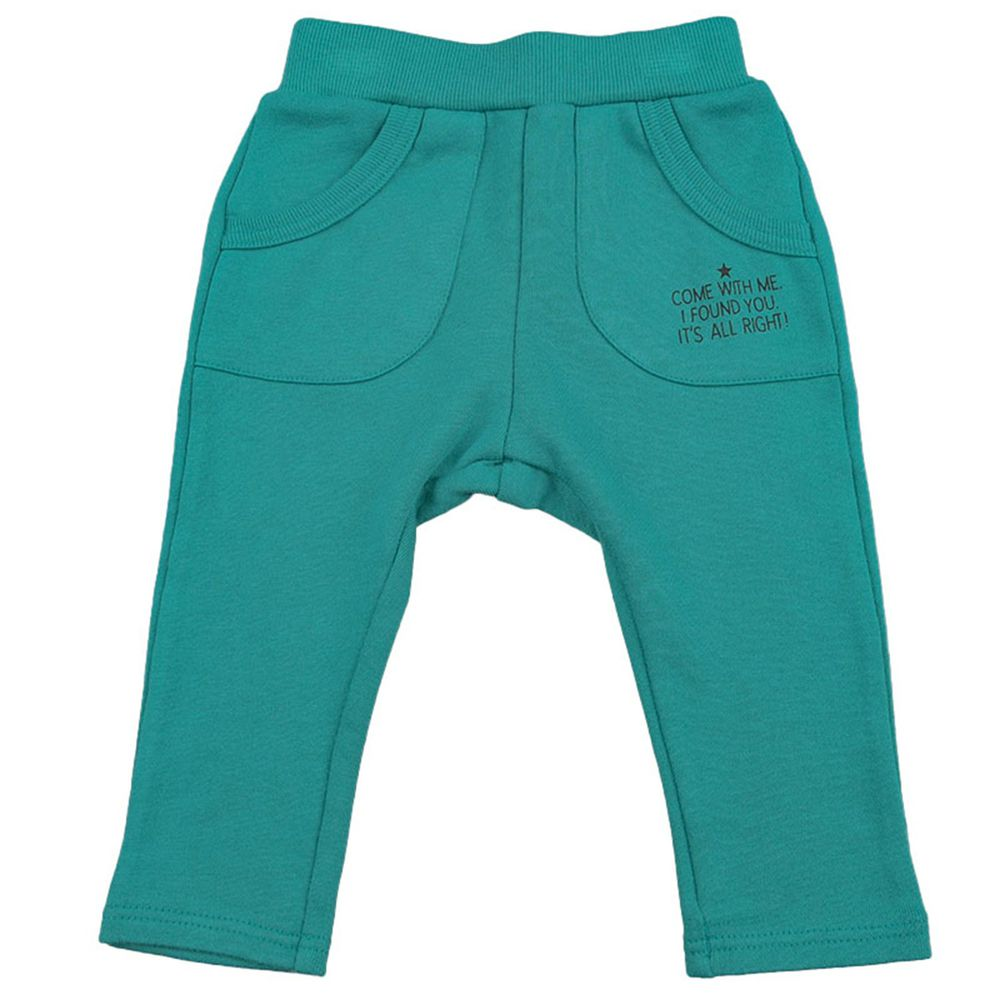 akachan honpo - 長褲-綠色