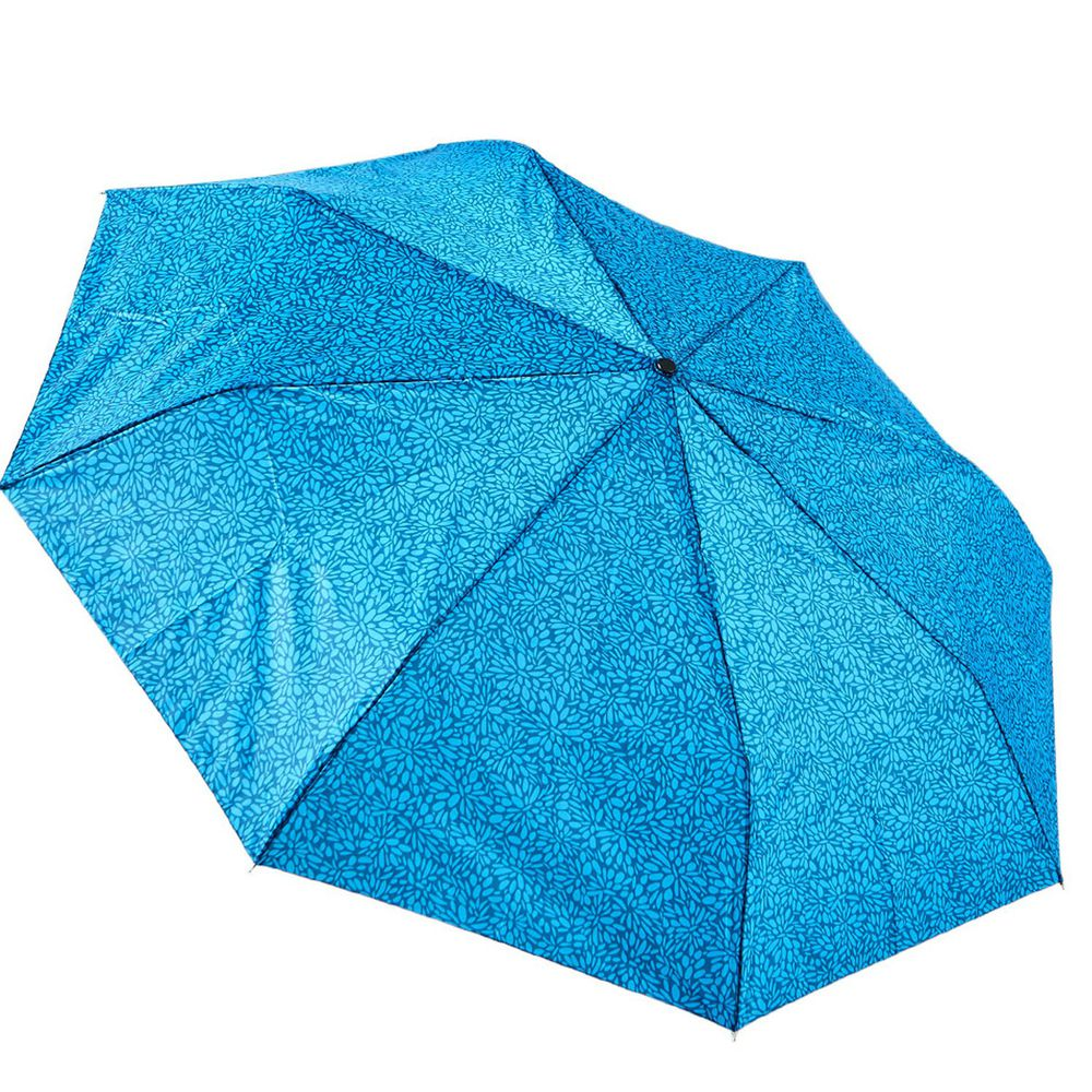 Rainstory - 抗UV雙人自動傘-藍漾碎花-自動開收傘