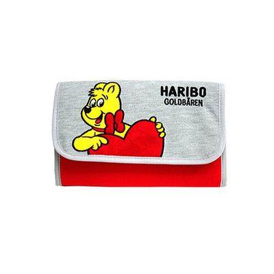 HARIBO 母子手帳包-經典皮夾型磁扣款-紅色