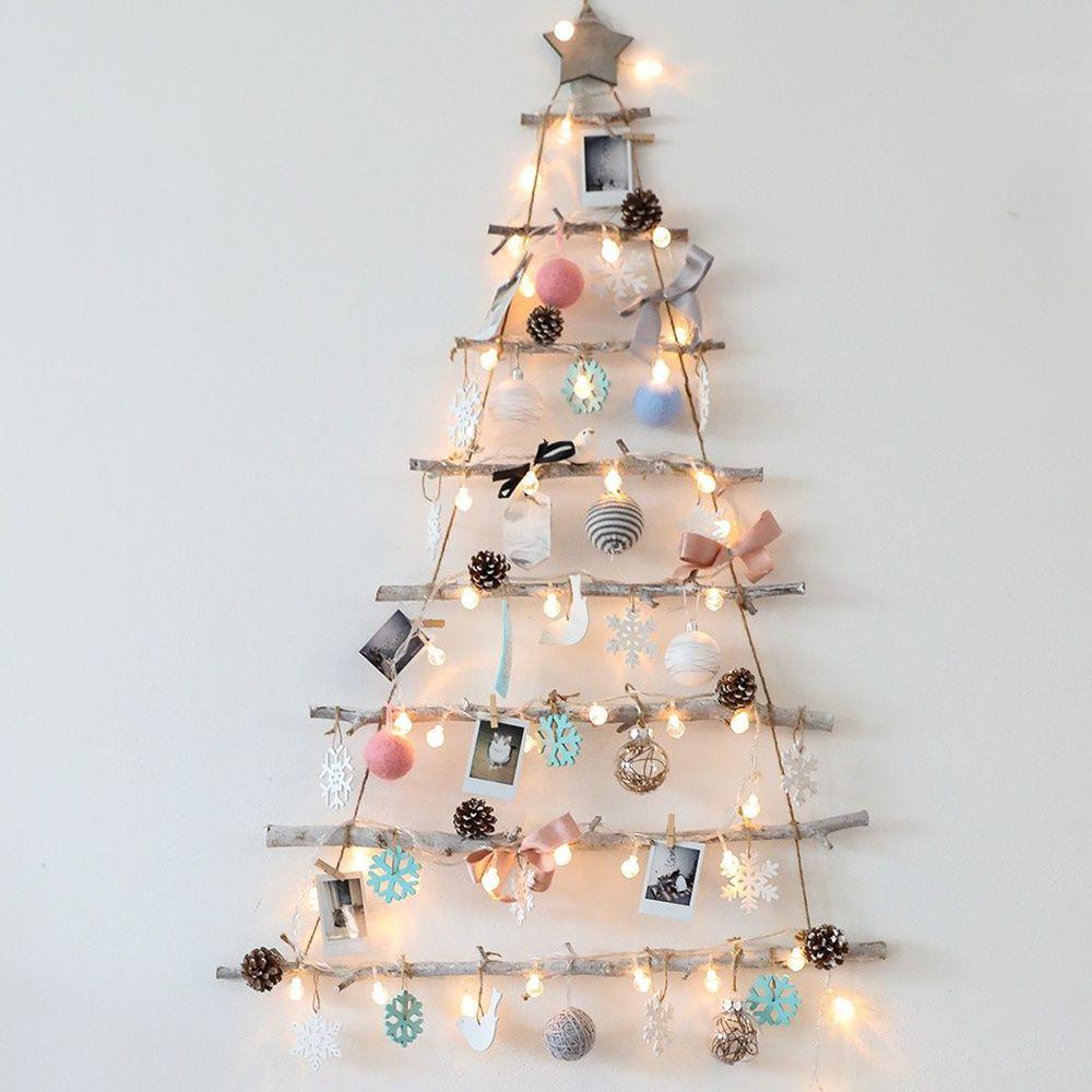 韓國 - 聖誕樹/聖誕壁飾燈-夢想國度 (樹高105cm,樹寬71cm)