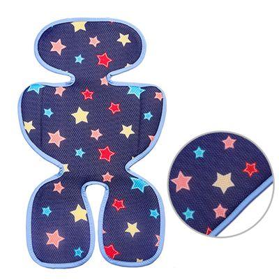 韓國 GIO Pillow - ICE SEAT 超透氣推車/汽座專用涼爽座墊-花色款-A型(褲型)-夜晚星星