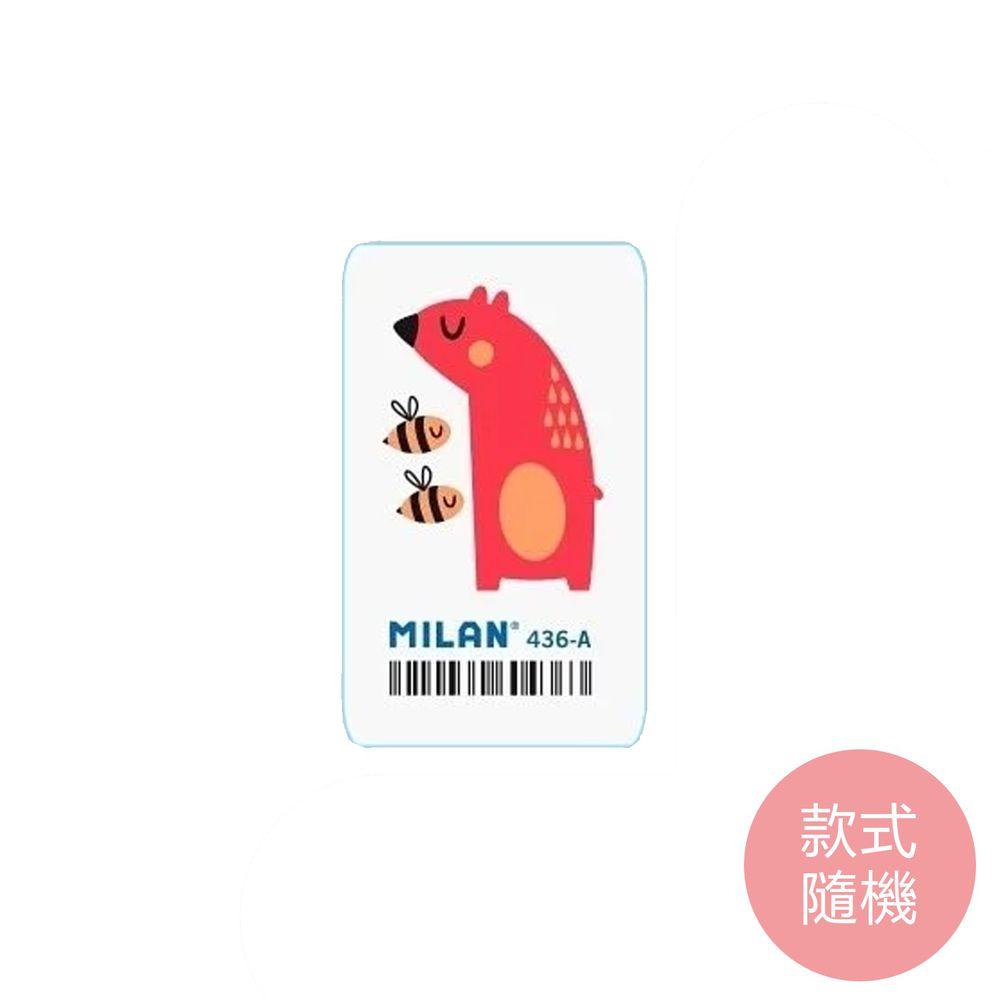 MILAN - 森林療癒動物橡皮擦(6款隨機一款)