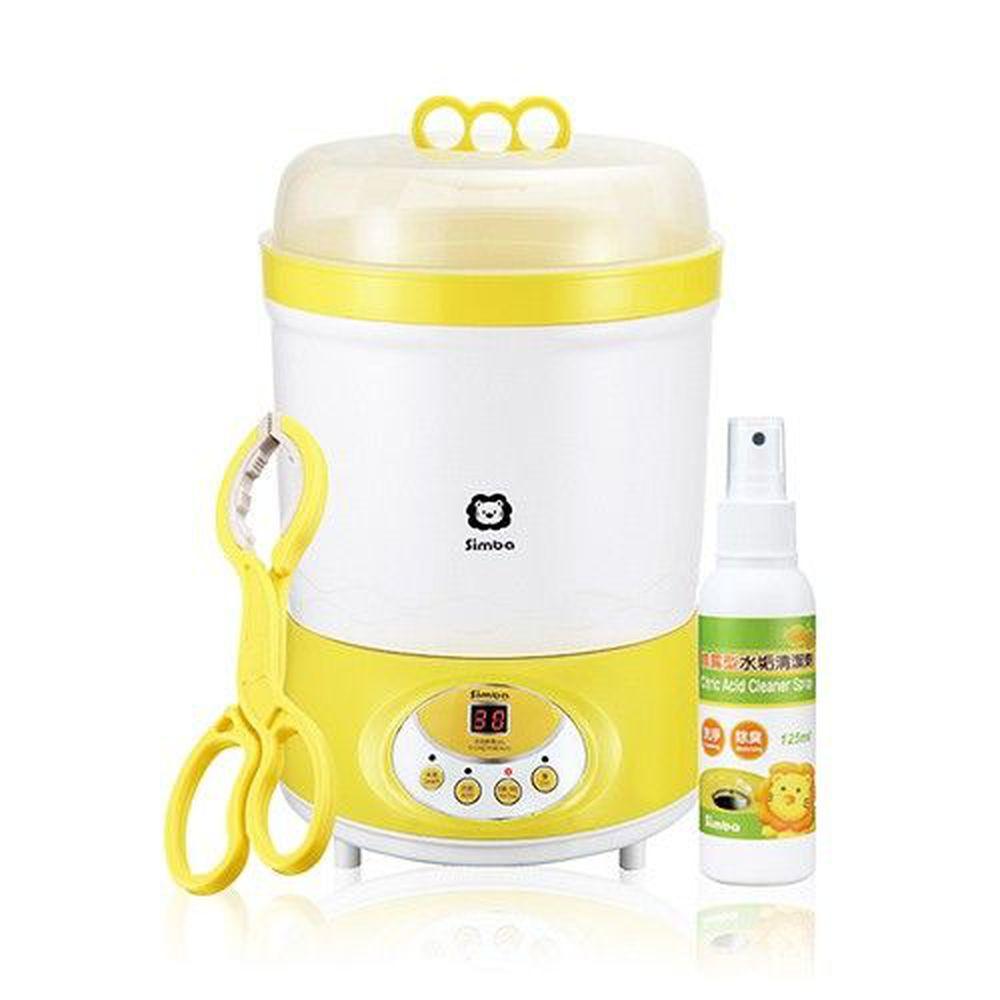 Simba 小獅王辛巴 - 微電腦高效消毒烘乾機(加贈噴霧型水垢清潔劑+奶瓶夾)-組