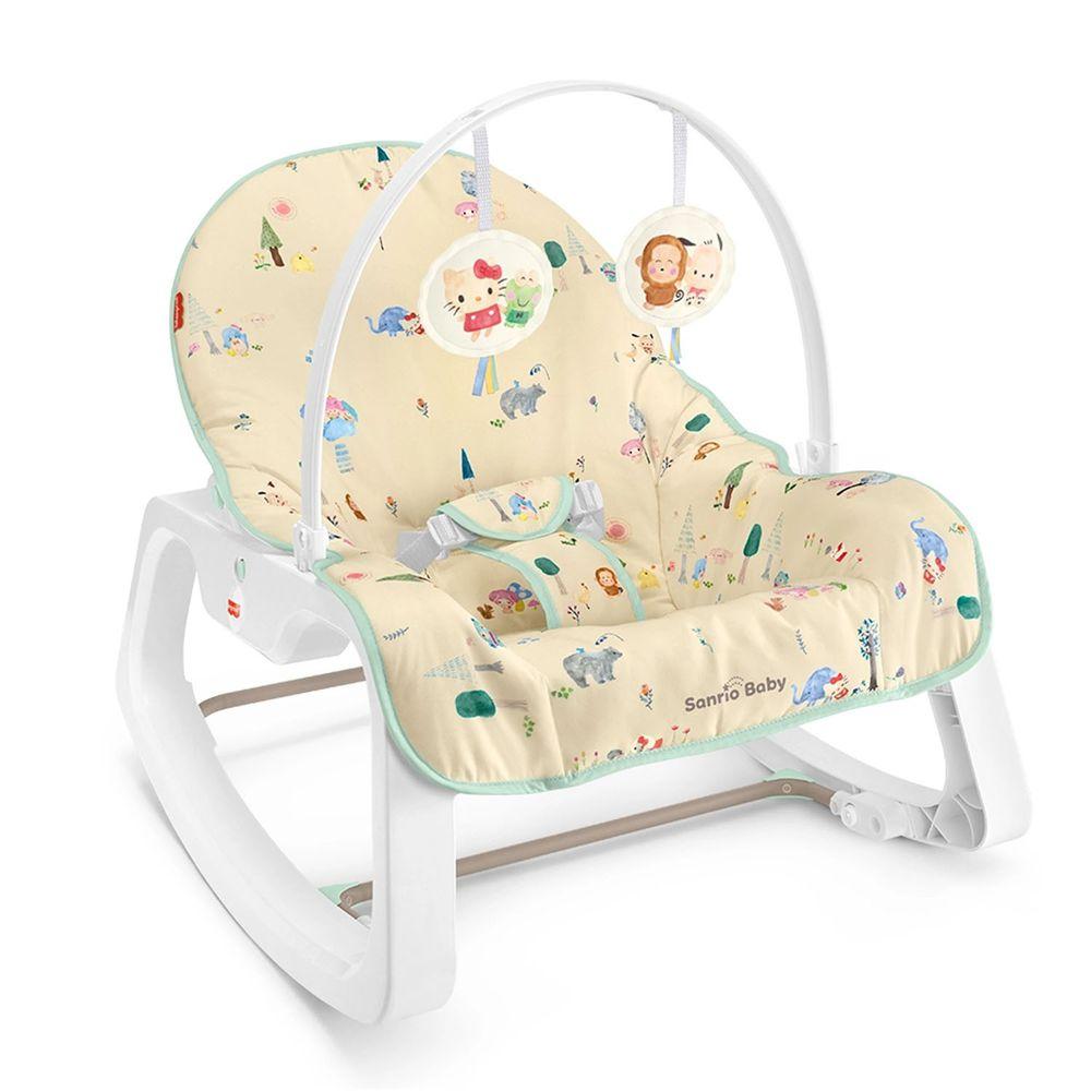 美國Fisher-Price 費雪 - Sanrio嬰兒幼童安撫搖椅(限量版) (61.26*13.34*33.02cm)