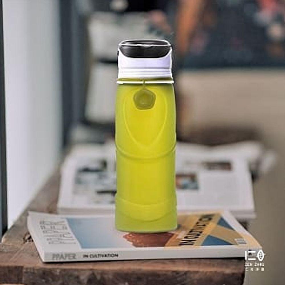 仁舟淨塑 - 捲捲矽光瓶-大地綠