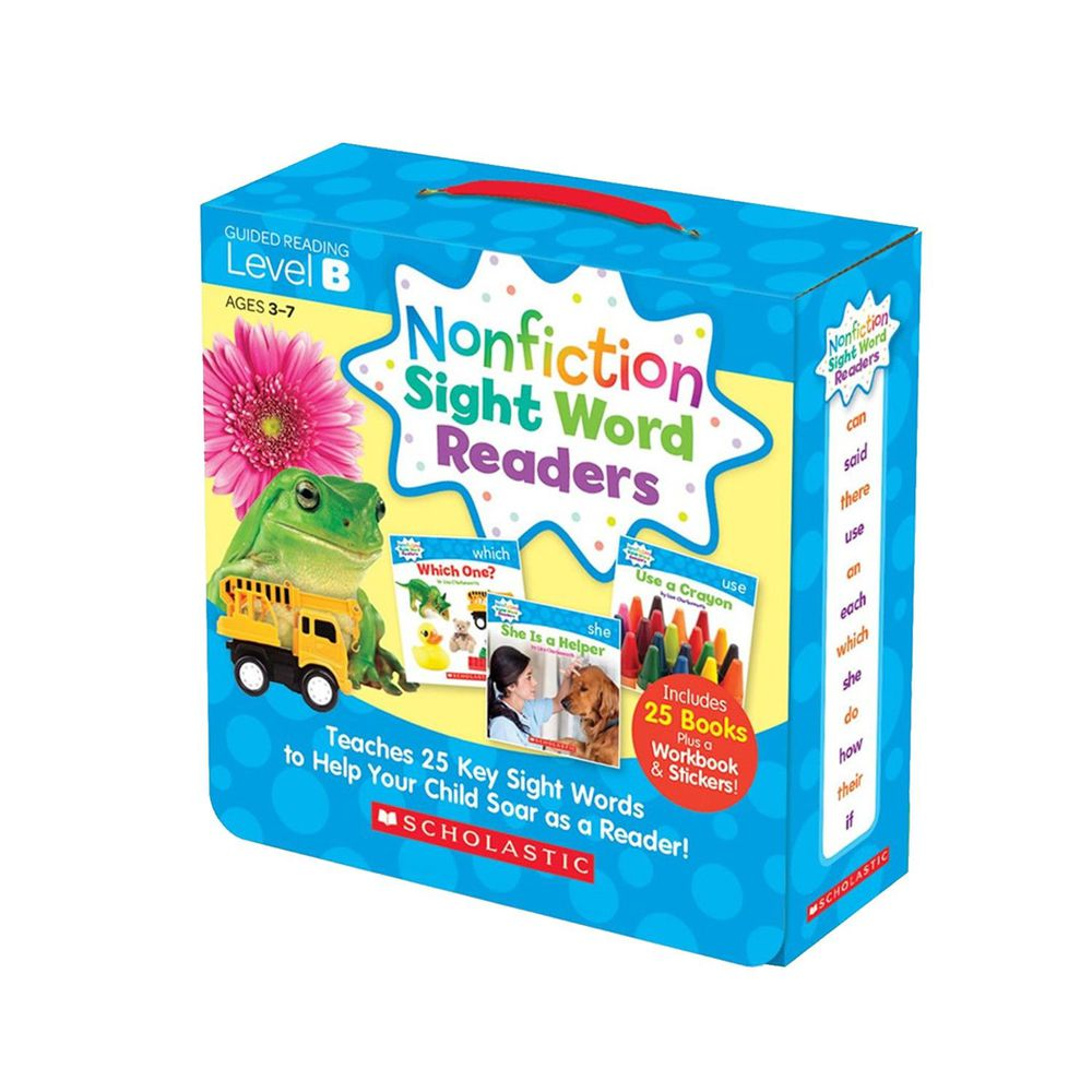 Nonfiction Sight Word Readers Level B with CD-教材+CD-彩色