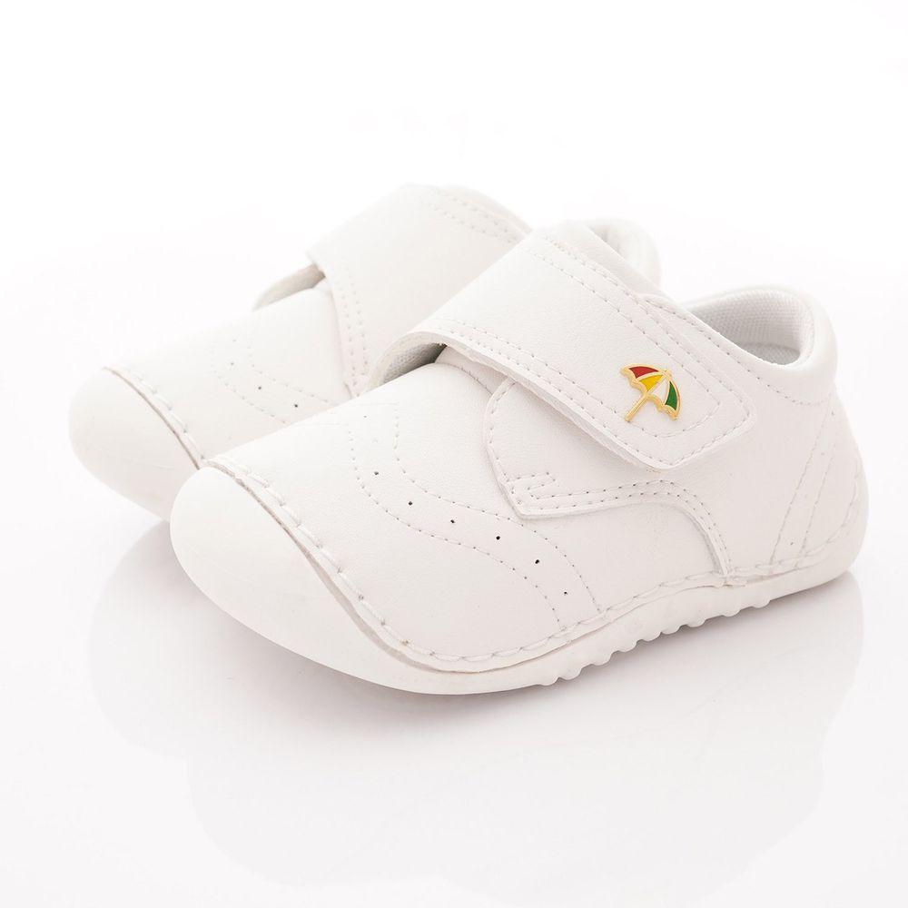 Arnold Palmer 雨傘牌 - 專櫃童鞋-皮質超輕學步鞋專櫃款(寶寶段)-白-台碼=尺寸cm
