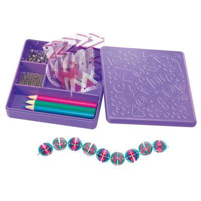 民族風情吊飾 Shrink Aztec Beads-2條手鍊+1條項鍊