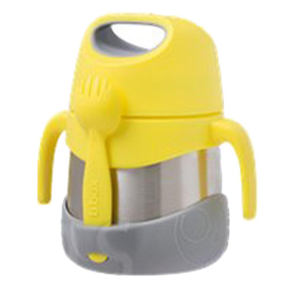 澳洲 b.box - 不鏽鋼燜燒罐-檸檬黃-335ml