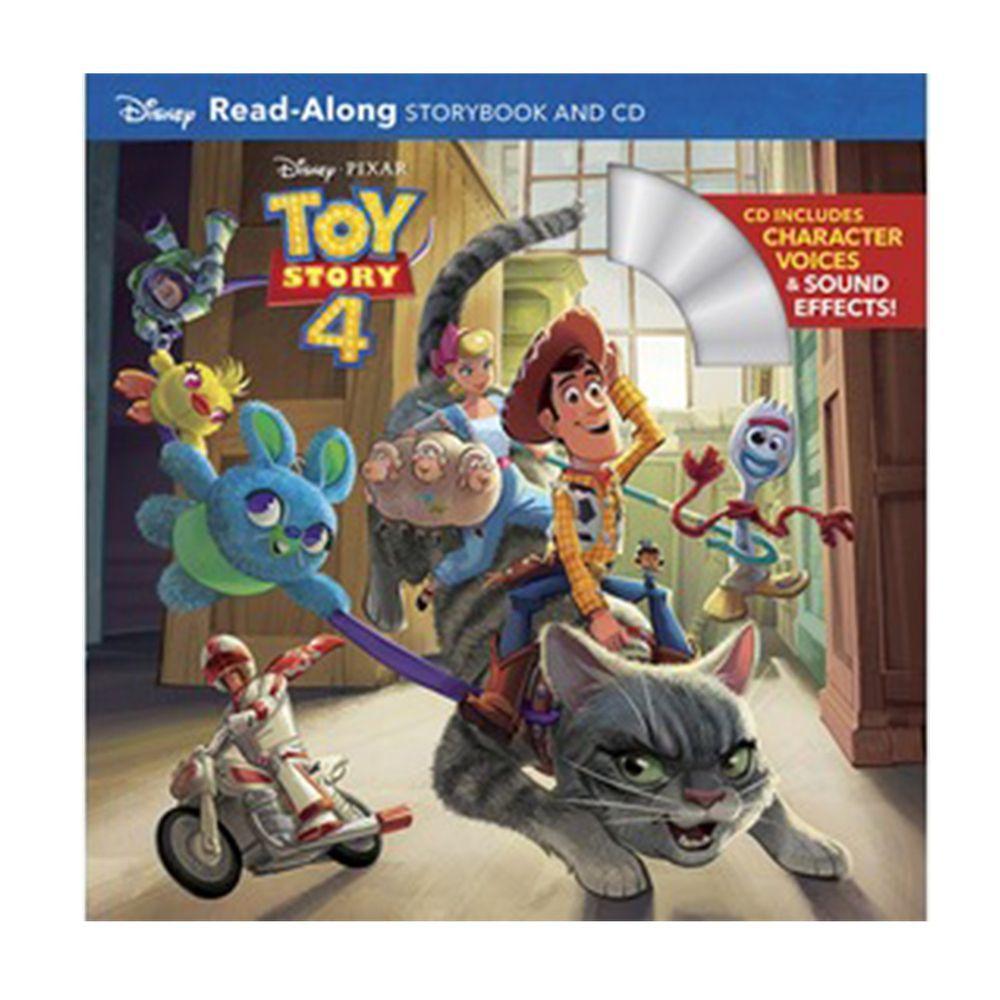 迪士尼系列CD有聲書-Toy Story 4 玩具總動員4