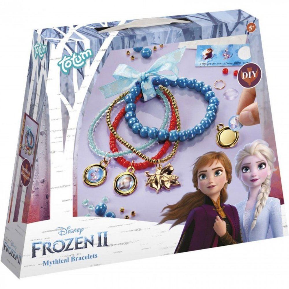 Disney 迪士尼 - 【新品】《 Disney 迪士尼 公主 》冰雪奇緣迷你手作系列-串珠手鍊組