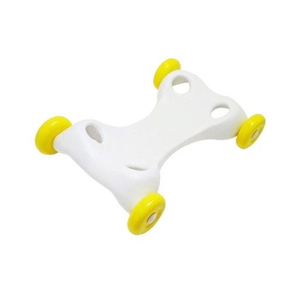 RODY - 正版公司貨-跳跳馬專用滑輪板-白+黃