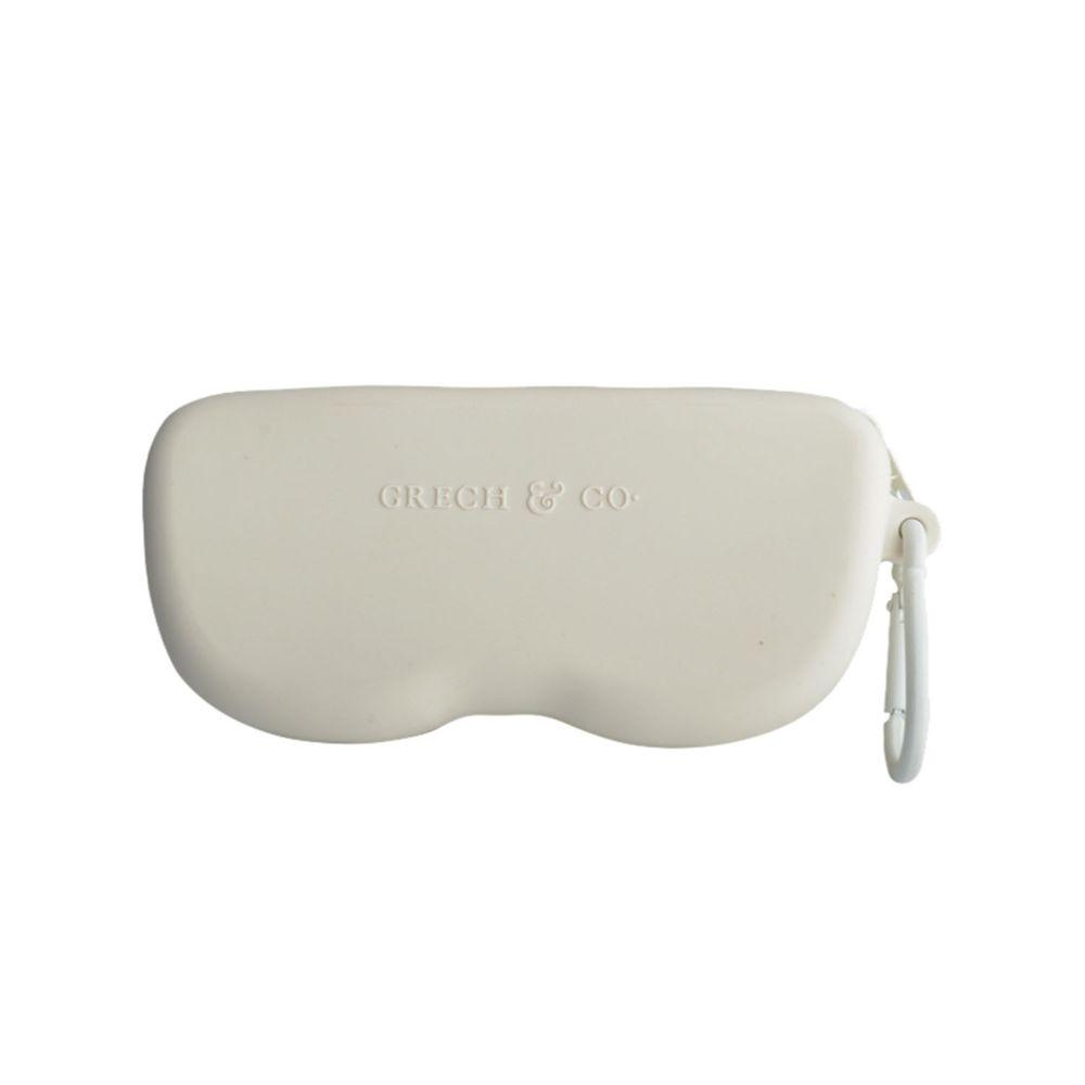 丹麥GRECH&CO - 矽膠眼鏡盒-奶茶