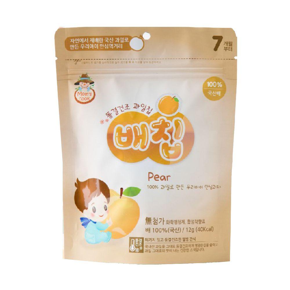 韓爸田園日記 - 寶寶乾水果片-水梨 (7個月以上)-1包/12公克