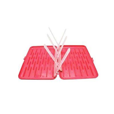 奶瓶餐具晾乾盒-西瓜紅