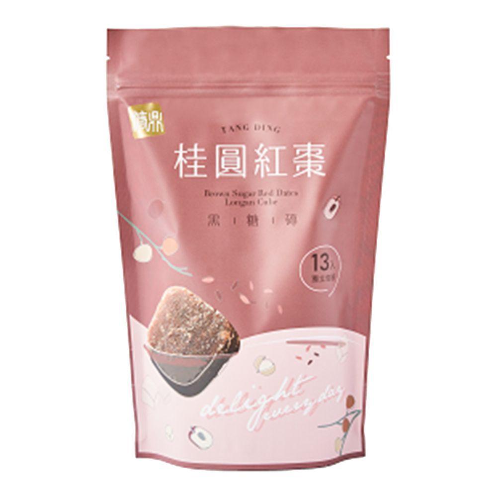 糖鼎黑糖磚 - 桂圓紅棗-13入 (大)-30g*13入/包
