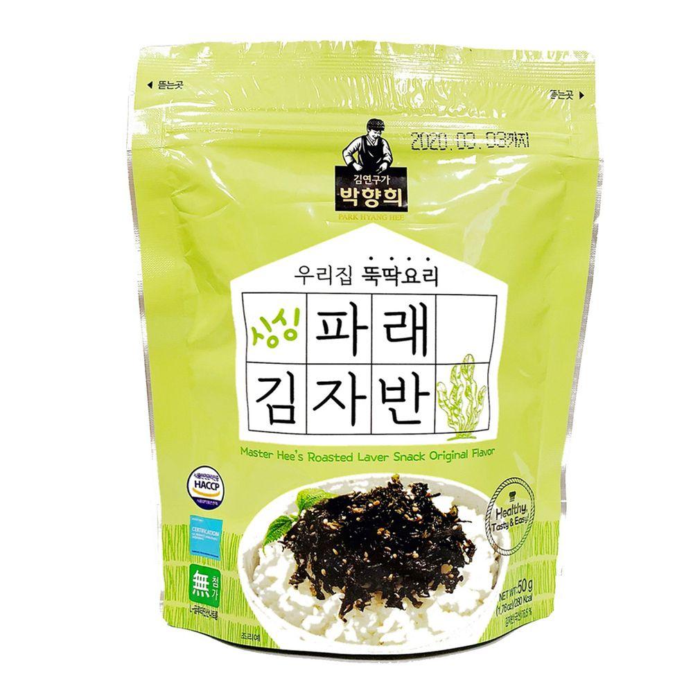 韓國朴師傅 - 海苔酥-原味-50g/包