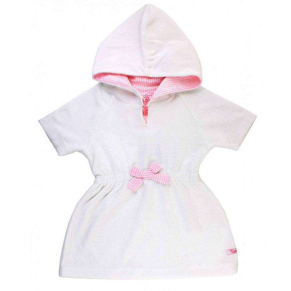 美國 RuffleButts - 兒童游泳罩衫/浴巾-小天使