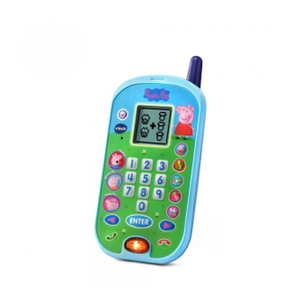 Vtech - 粉紅豬小妹-智慧學習互動小手機