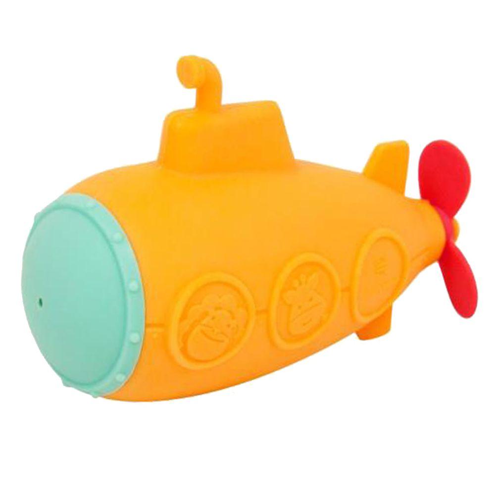 MARCUS&MARCUS - 動物樂園矽膠洗澡玩具-潛水艇