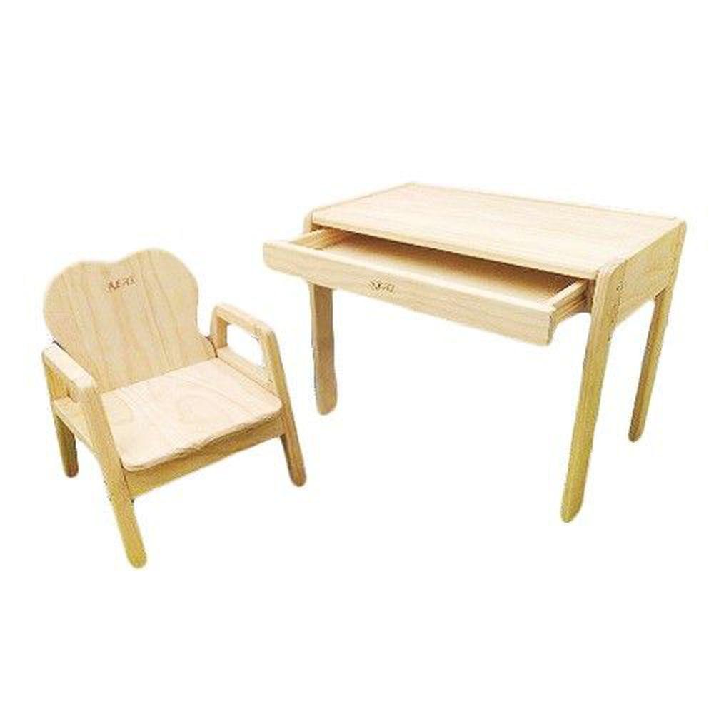 REAL 實木玩家 - mini 三階段成長型桌椅/兒童書桌椅-一桌一椅