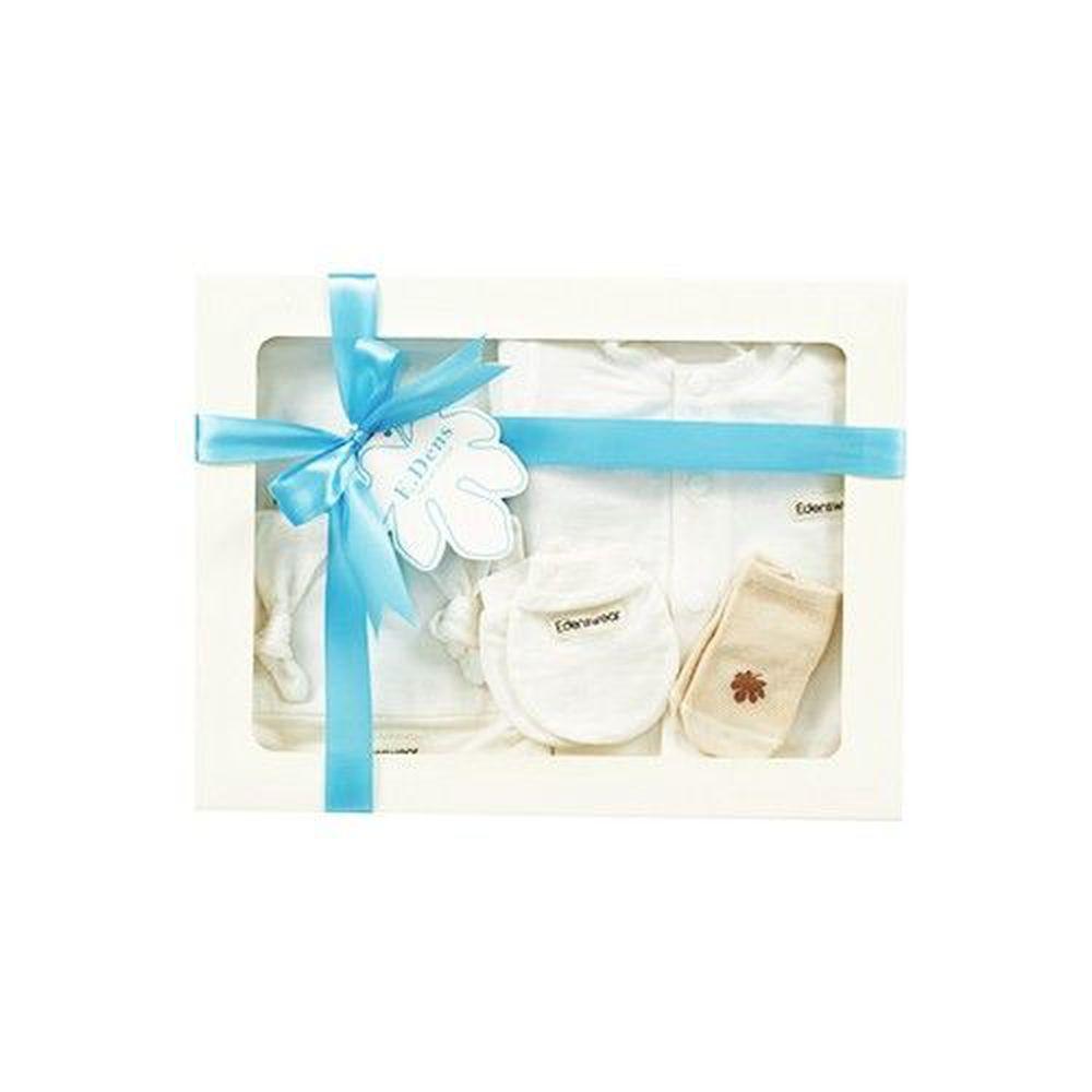 Edenswear 伊登詩 - 鋅纖維抗敏衣系列-寵愛彌月禮盒-米白-五件組