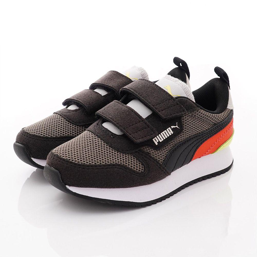 puma - 雙絆帶流線運動鞋款(中小童段)-灰黑