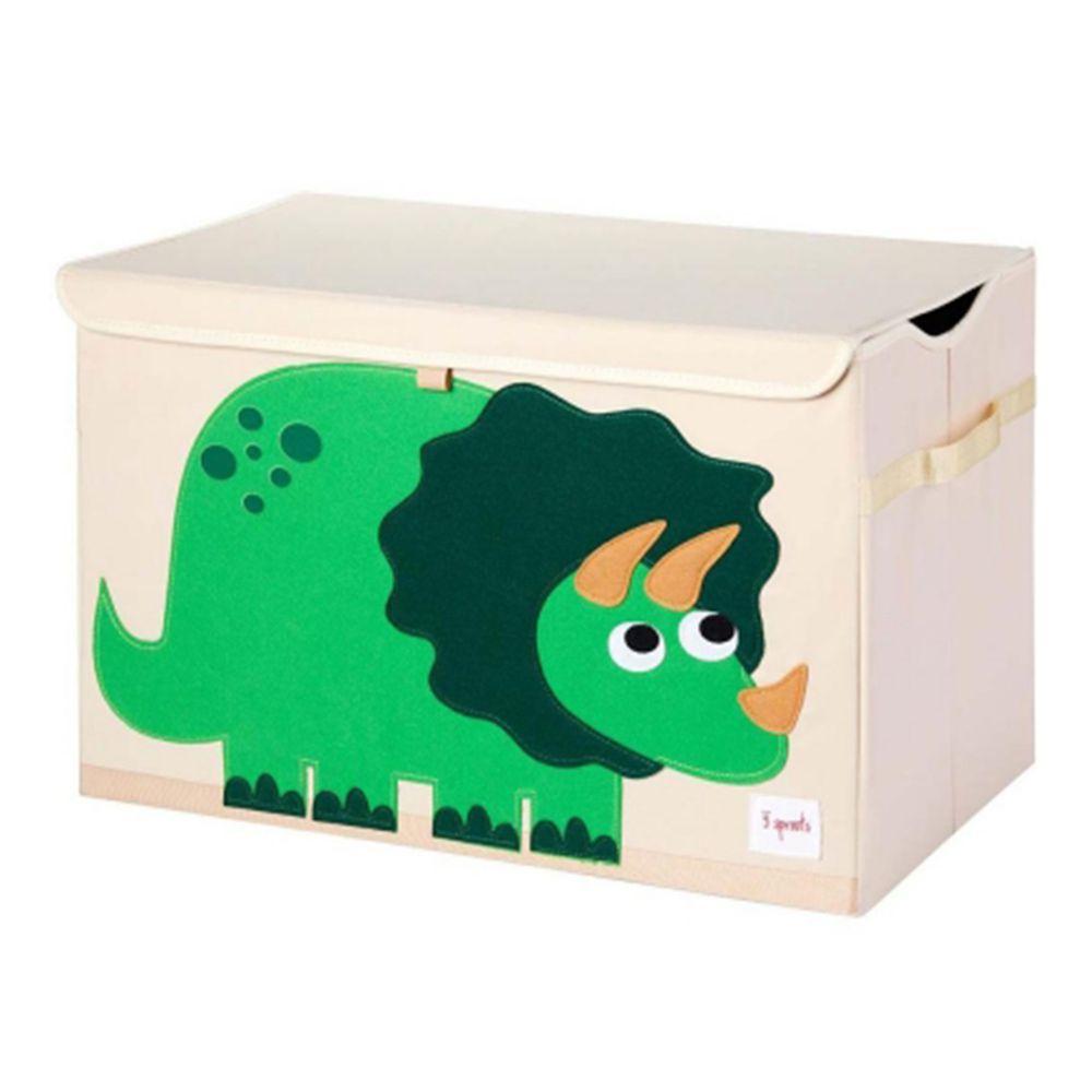 加拿大 3 Sprouts - 大型玩具收納箱-小恐龍