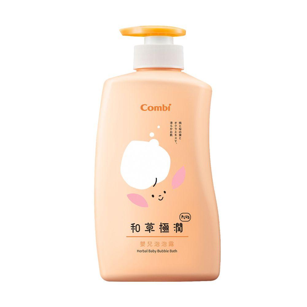 日本 Combi - 和草極潤嬰兒泡泡露plus-500ml
