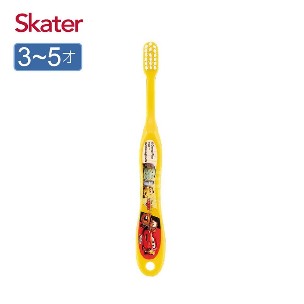 日本 SKATER - 軟毛牙刷(3-5歲)-閃電麥昆