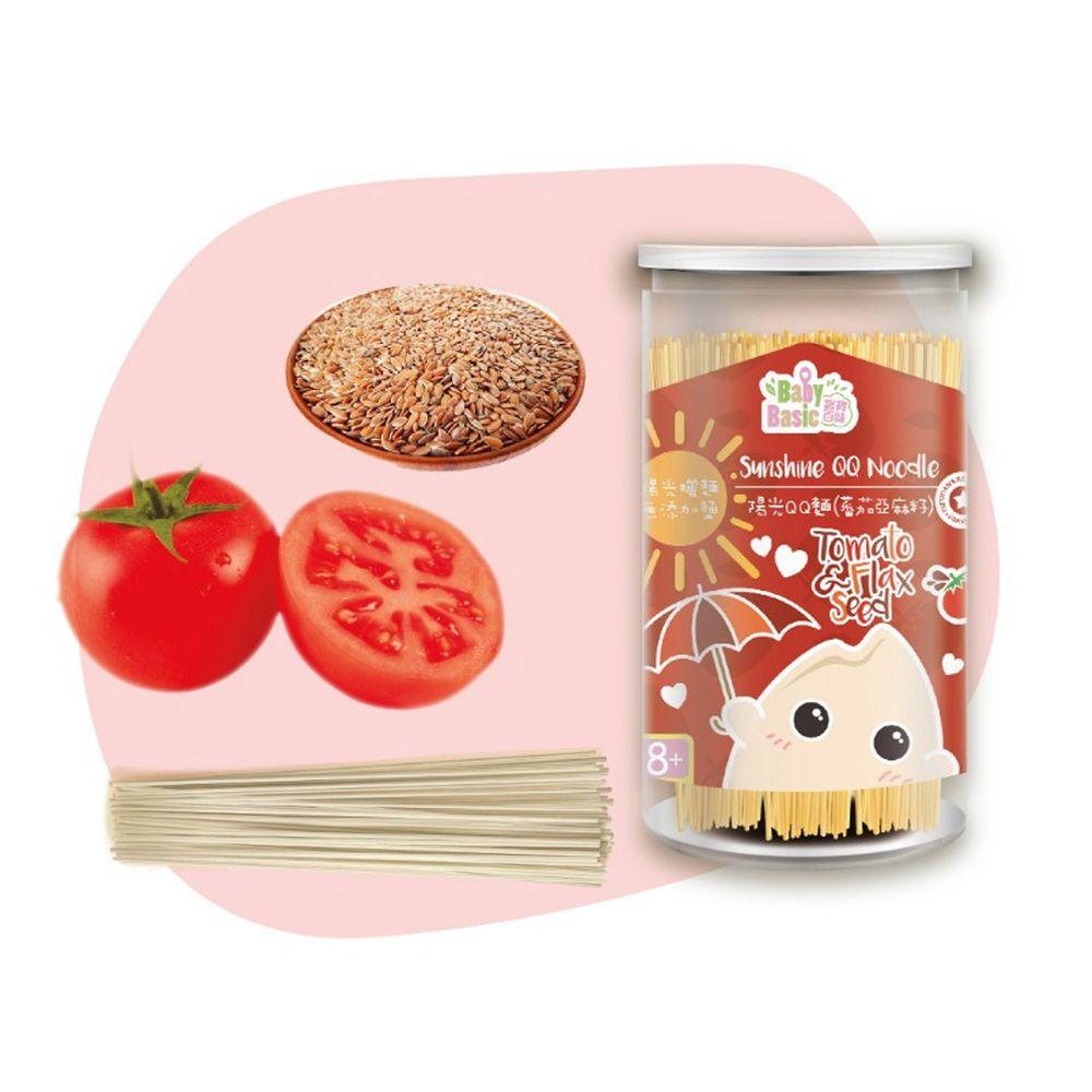 香港寶寶百味 - 陽光QQ麵(蕃茄亞麻籽)-220g