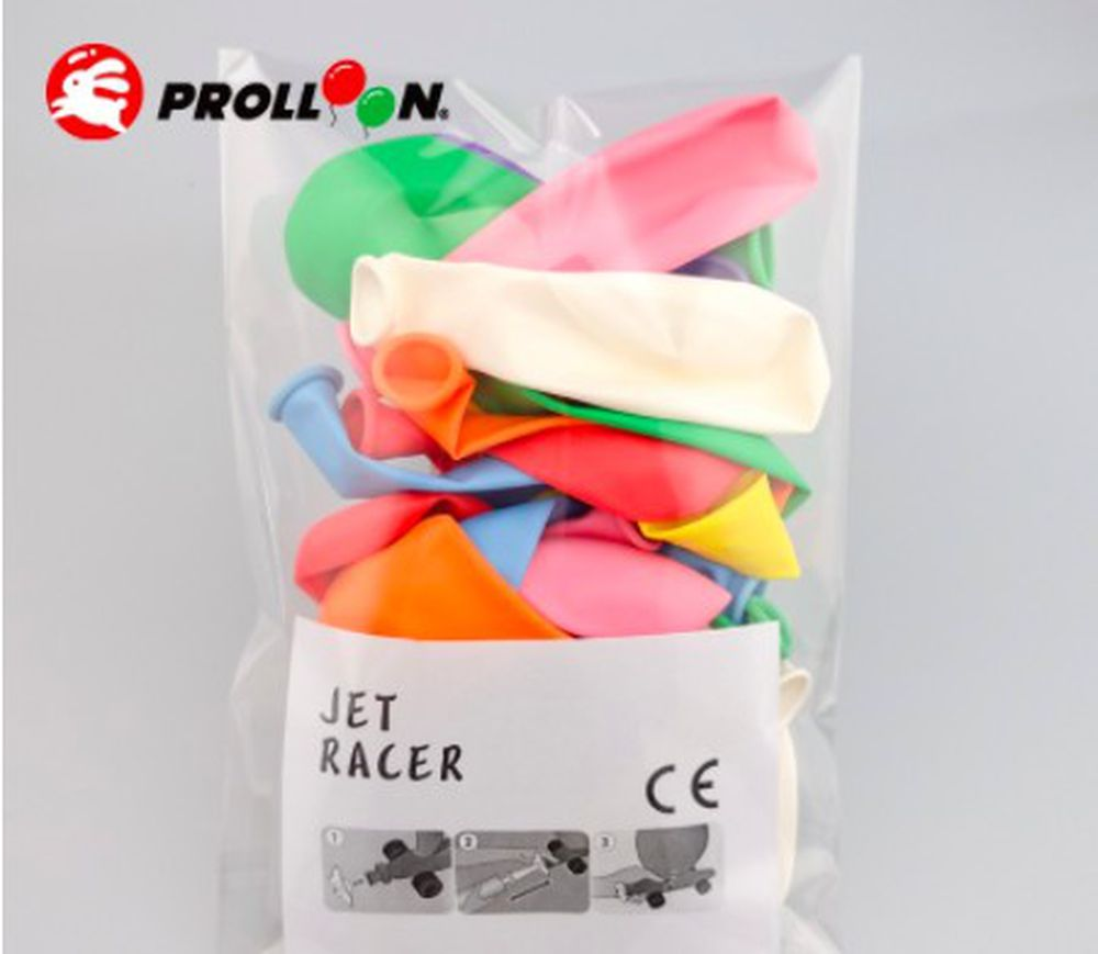 大倫氣球 - 賽車氣球補充包(20顆裝)-顏色隨機