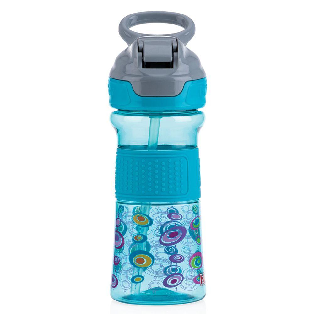 Nuby - Tritan運動水杯兒童水壺-藍綠