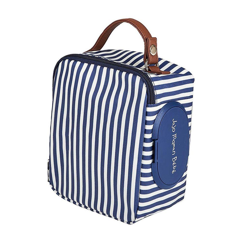 英國 JoJo Maman BeBe - 嬰兒多功能掛袋/收納袋-優雅線條