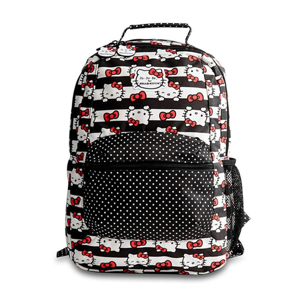 美國 Ju-Ju-Be - Be Packed 輕便後背包-BePacked-Dots and Stripes