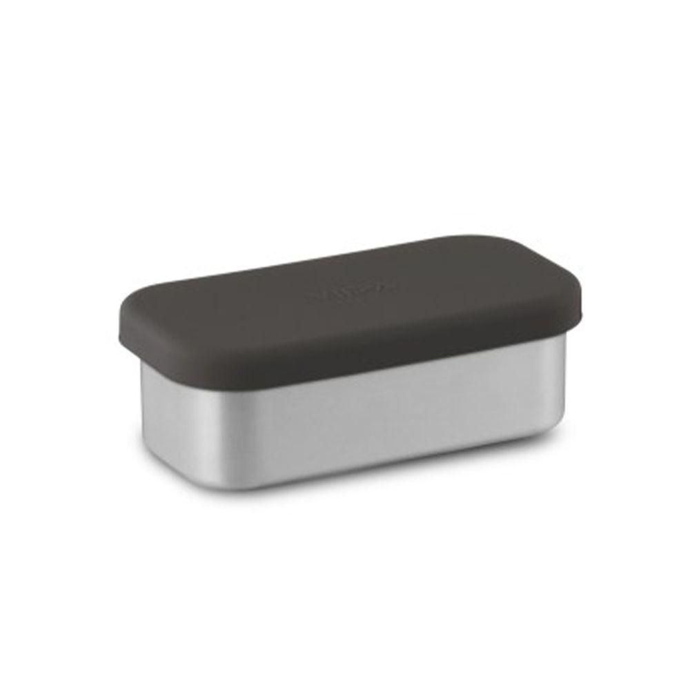 VIIDA - Kasten & Kassie分隔盒 (單入)-316抗菌不鏽鋼-黑 (220ml)