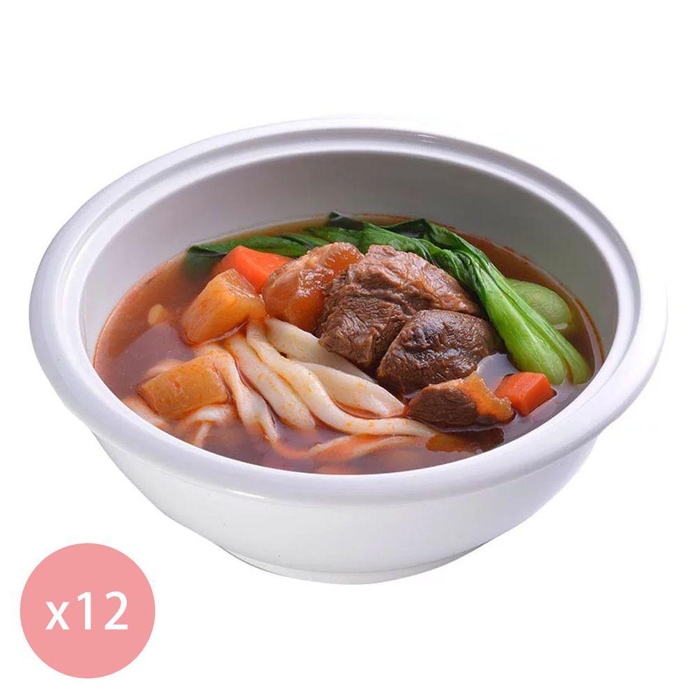 【國宴主廚温國智】 - 冷凍紅燒牛肉麵700g x12包