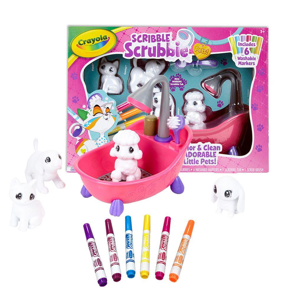 Crayola繪兒樂 - 【熱銷】彩繪百變毛小孩歡樂澡盆組