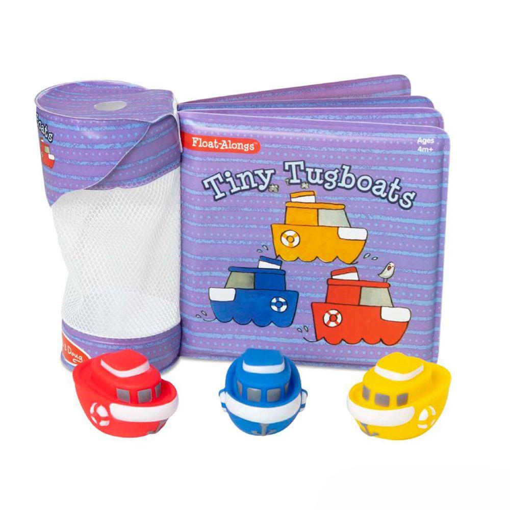 美國瑪莉莎 Melissa & Doug - 洗澡玩具書-小遊艇