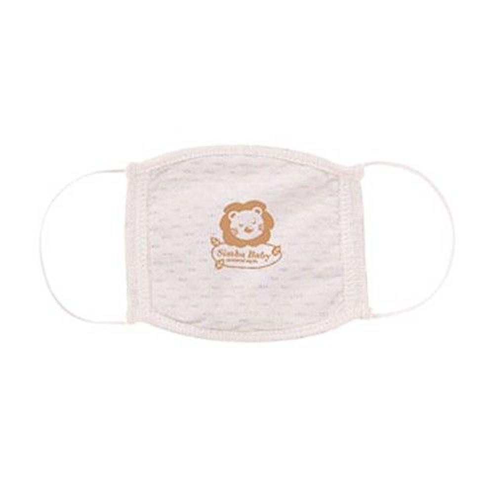 Simba 小獅王辛巴 - 有機棉幼兒口罩(0-3歲適用)-約10x12cm