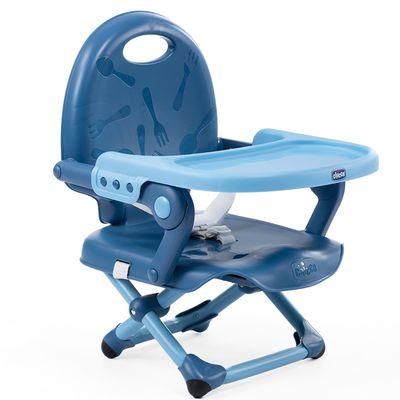 Pocket snack攜帶式輕巧餐椅-晴空藍